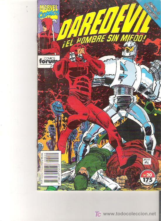 DAREDEVIL - EL HOMBRE SIN MIEDO NUM 20 (Tebeos y Comics - Forum - Daredevil)
