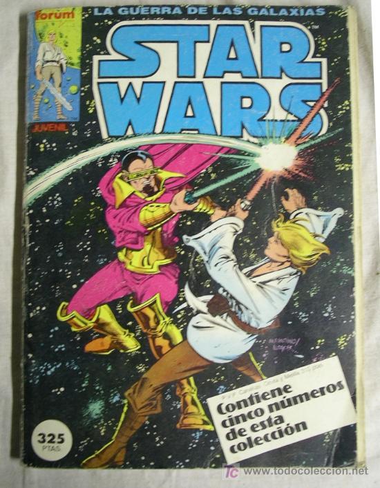 RETAPADO Nº 1 AL 5 STAR WARS (Tebeos y Comics - Forum - Retapados)