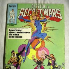 Cómics: RETAPADO DEL Nº 26 AL 30 SECRET WARS II. Lote 18425044