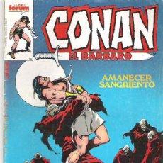 Cómics: CONAN EL BARBARO - AMANECER SANGRIENTO NUM 111 1986. Lote 6714487