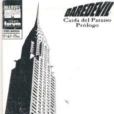 Cómics: DAREDEVIL - CAIDA DEL PARAISO PROLOGO NUM 1 SERIE LIMITADA. Lote 6768612