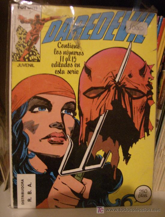DAREDEVIL REPATADO: NÚMEROS 11 AL 15. FRANK MILLER. OBRA MAESTRA DEL COMIC!! (Tebeos y Comics - Forum - Daredevil)