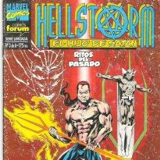 Cómics: HELLSTROM - EL HJIJO DE SATAN *** RITOS DEL PASADO ***1993. Lote 6776529