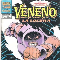 Cómics: VENENO - LA LOCURA ***NUM 1. Lote 6780525
