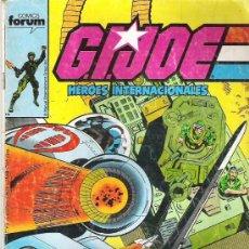 Cómics: GIJOE- HEROES INTERNACIONALES NUM 18***1988. Lote 6786613