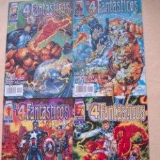 Cómics: LOS 4 FANTASTICOS: HEROES REBORN. LOS 4 PRIMEROS NUMEROS. DIBUJO Y GUIÓN POR JIM LEE.. Lote 27056171