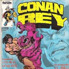 Cómics: CONAN REY NUM 5 EL ANILLO DE RAKHAMON 1984. Lote 6911722