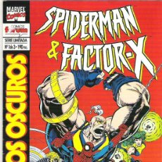 Cómics: SPIDERMAN & FACTOR X -JUEGOS OSCUROS ***VOL 1 NUM 1 DE 3 ***1994. Lote 7224112