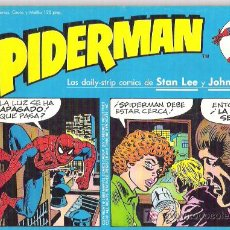 Cómics: SPIDERMAN - LAS DAILY-TRIPS COMMICS DE STAN LEE Y JOHN ROMITA NUM 16 1989. Lote 7239184