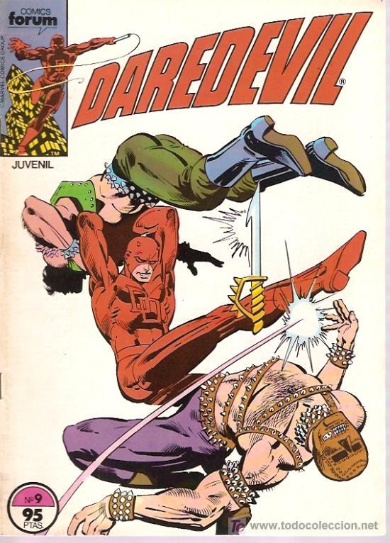 DAREDEVIL VOL.º Nº 9 FORUM (Tebeos y Comics - Forum - Daredevil)
