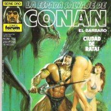 Cómics: LA ESPADA SALVAJE DE CONAN ***CIUDAD DE RATAS **** NUM 102. Lote 7571432
