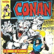 Cómics: CONAN EL BARBARO *** LA TORRE DE MADDOC ***NUM 109. Lote 7571528