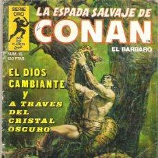 Cómics: LA ESPADA SALVAJE DE CONAN *** EL DIOS CAMBIANTE *** NUM 15. Lote 7572901