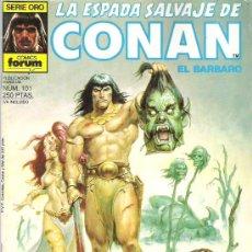 Cómics: LA ESPADA SALVAJE DE CONAN ***EL DIOS RESBALADIZO *** NUM 101. Lote 7572904