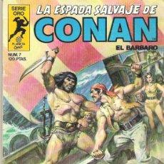Cómics: LA ESPADA SALVAJE DE CONAN *** EL TEMPLO DE LOS DOCE OJOS *** NUM 7. Lote 7572923