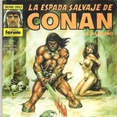 Cómics: LA ESPADA SALVAJE DE CONAN *** EL SALON DE LOS SUSURRROS ** NUM 114. Lote 7572930