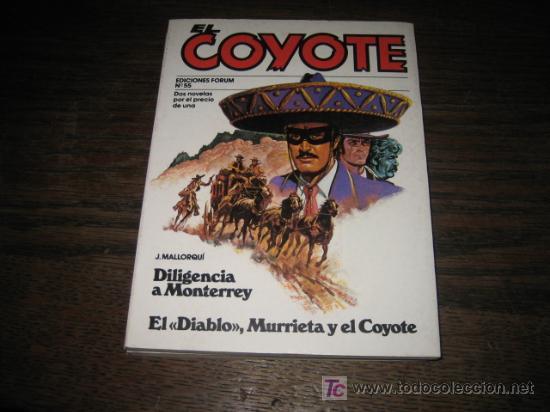 EL COYOTE Nº 55 EDICIONES FORUM 1983 (Tebeos y Comics - Forum - Otros Forum)