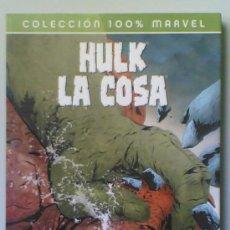 Cómics: HULK / LA COSA - A GOLPES. Lote 25683732
