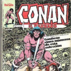 Cómics: CONAN EL BARBARO - CONTIENE 5 NUMEROS DEL 111 AL 115. Lote 12422947