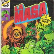 Cómics: LA MASA - EL INCREIBLE HULK ** EL JARDINERO NUM 17 BRUGUERA *** 1981. Lote 7846801