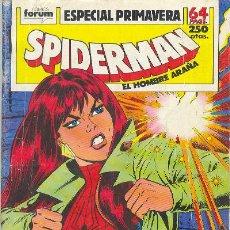 Cómics: SPIDERMAN ESPECIAL PRIMAVERA. Lote 19229417