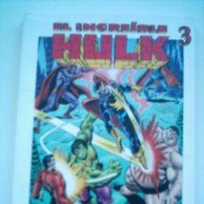 Cómics: INCREIBLE HULK 3 / 194 PAGINAS 21X15CM EL MUNDO/ NORMA 2003. Lote 26295178