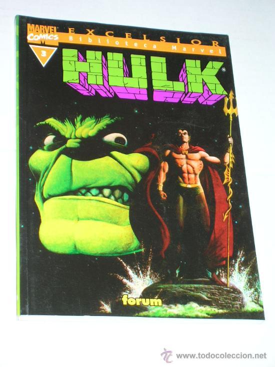 BIBLIOTECA MARVEL HULK #3 (Tebeos y Comics - Forum - Hulk)
