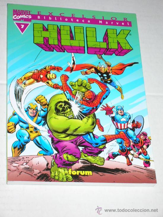 BIBLIOTECA MARVEL HULK #7 (Tebeos y Comics - Forum - Hulk)