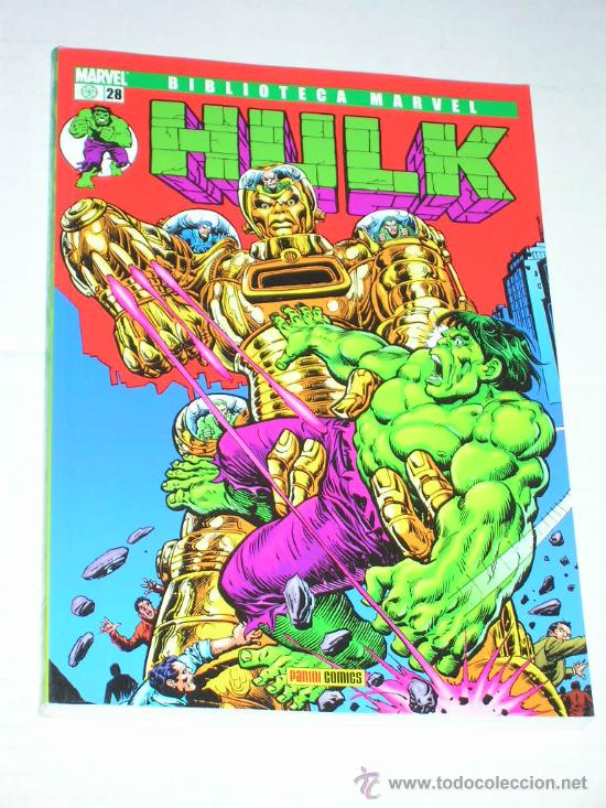 BIBLIOTECA MARVEL HULK #28 (Tebeos y Comics - Forum - Hulk)
