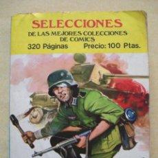 Cómics: SELECCIONES DE COMICS. TOMO RECOPILATORIO CON 5 SERIES COMPLETAS. PEQUEÑO TAMAÑO.. Lote 26986584