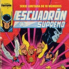 Cómics: ESCUADRÓN SUPREMO COMPLETA 10 Nº. Lote 8256562