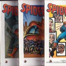 Cómics: SPIDERMAN , BIBLIOTECA EL MUNDO , SERIE COMPLETA EN 4 EJEMPLARES. Lote 16316934
