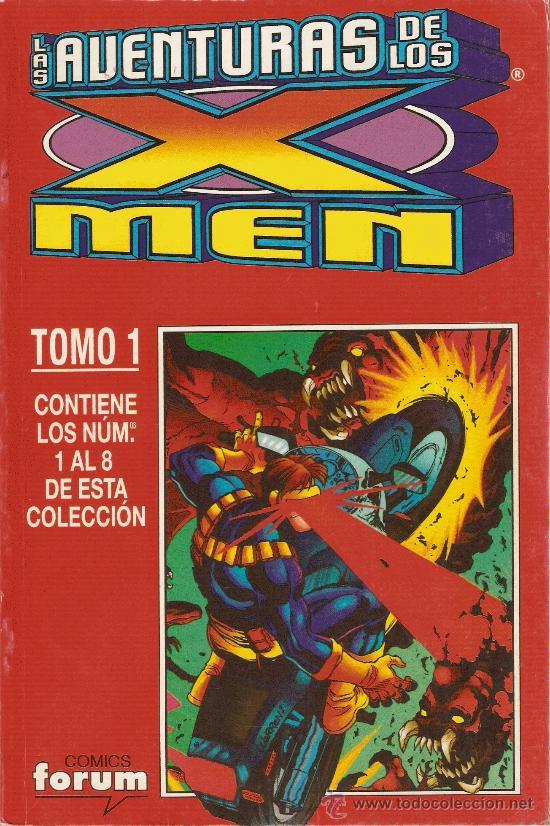 LAS AVENTURAS DE LOS X MEN - VOL II - TOMO 1 - Nº 1 AL 8 - RETAPADO CON OCHO NUMEROS (Tebeos y Comics - Forum - Retapados)