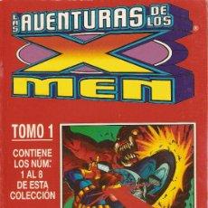 Cómics: LAS AVENTURAS DE LOS X MEN - VOL II - TOMO 1 - Nº 1 AL 8 - RETAPADO CON OCHO NUMEROS. Lote 13841224