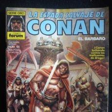 Cómics: LA ESPADA SALVAJE DE CONAN. LAS FLORES DEL LOTO NEGRO. N 60. Lote 8364361