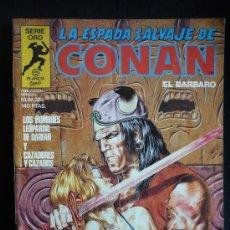 Cómics: LA ESPADA SALVAJE DE CONAN. LOS HOMBRES LEOPARDO DE DARFAR Nº28. Lote 8364486