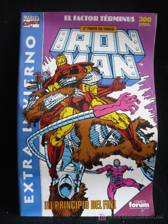 IRON MANN. EL FACTOR TERMINUS. EXTRA.INVIERNO. EL PRINCIPIO DEL FIN. 2PARTE DE 5. (Tebeos y Comics - Forum - Factor X)
