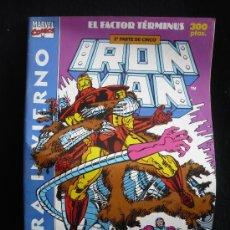 Cómics: IRON MANN. EL FACTOR TERMINUS. EXTRA.INVIERNO. EL PRINCIPIO DEL FIN. 2PARTE DE 5.. Lote 8364546