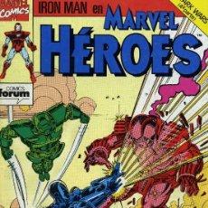 Cómics: MARVEL HÉROES - Nº 57 - FORUM 1988. Lote 8423077
