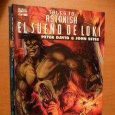Cómics: TALES TO ASTONISH. EL SUEÑO DE LOKI. COLEC. PRESTIGIO VOL. 2. Nº 5. FORUM ¡¡DIFÍCIL!!. Lote 25974221