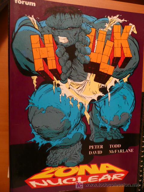 HULK. ZONA NUCLEAR. OBRAS MAESTRAS FORUM (Tebeos y Comics - Forum - Hulk)