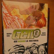 Cómics: GEN 13. ASÍ ACABA LA HISTORIA. WORLD COMICS. Lote 26686235