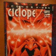 Cómics: ICONOS X-MEN. CÍCLOPE. FORUM. Lote 26823823