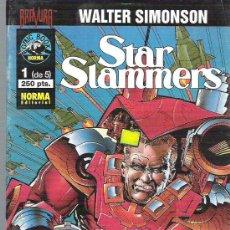 Cómics: STAR SLAMMERS - SERIE COMPLETA DE 5 CAPITULOS *** MARZO 1995 ** EXCEPCIONAL. Lote 11564647