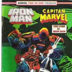 Cómics: MARVEL TWO IN ONE -IRON MAN / CAPITAN MARVEL Nº 45 1989. Lote 8528012