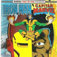 Cómics: MARVEL TWO IN ONE -IRON MAN / CAPITAN MARVEL Nº 42 1989. Lote 8528017