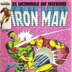 Cómics: IRON MAN - EL NUEVO IRON MAN CONTRA EL BOLA TRUENO - NUM 24 1987. Lote 8570531
