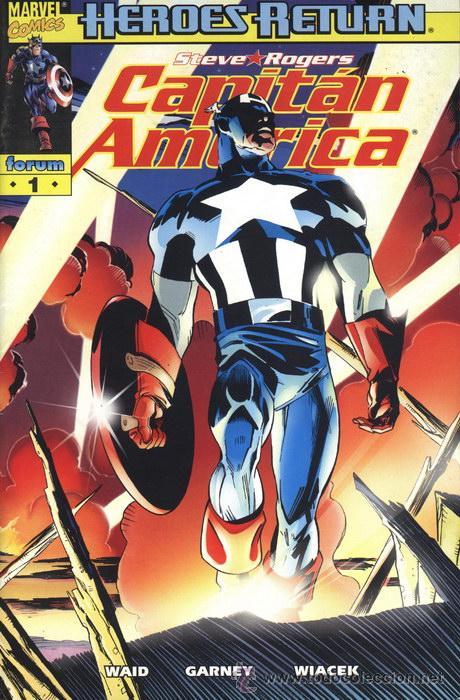 CAPITAN AMERICA Nª1 VOLUMEN 4 ( HEROES RETURN) (Tebeos y Comics - Forum - Capitán América)