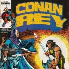 Cómics: CONAN REY TOMO CON LOS Nº 1 AL 5. Lote 26325947
