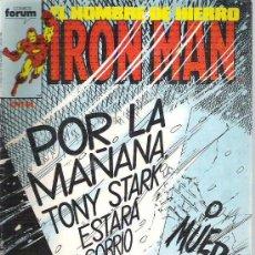 Cómics: IRON MAN - POR LA MAÑANA TONY STARK *** Nº 31 1987. Lote 8592354